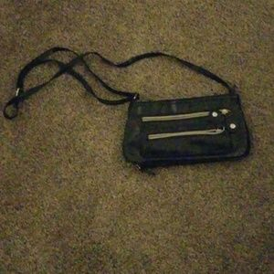 Handbags - Black Simple cross body purse
